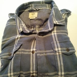 ✴Vans mens casual button down shirt size S✴